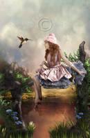 a beauty world by CindysArt