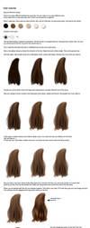 Hair tutorial by CindysArt