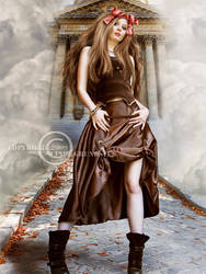 Beauty model by CindysArt