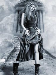 Beauty model II by CindysArt