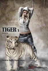 Tigers eyes by CindysArt