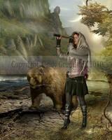 Treasure hunt by CindysArt