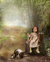 The little traveler by CindysArt