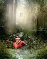Violin girl by CindysArt