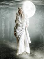 White beauty II by CindysArt