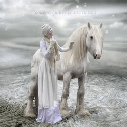 White wild beauty by CindysArt
