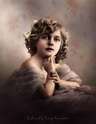 Colored Vintage Photo by CindysArt