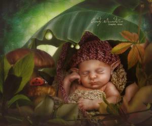Elf Baby by CindysArt