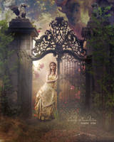 The mysterious garden by CindysArt