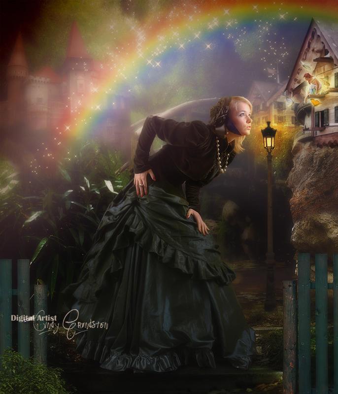 Where the rainbow ends by CindysArt