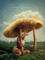 A rainy day by CindysArt