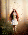 The princess of autumn by CindysArt