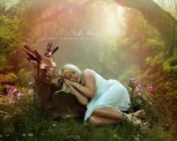 Safe sleep by CindysArt