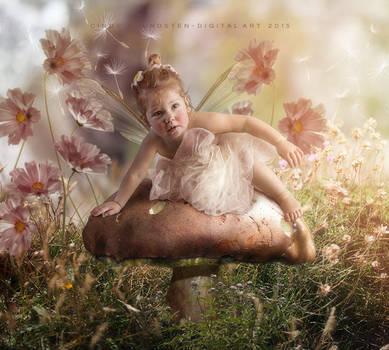 Elf baby II by CindysArt