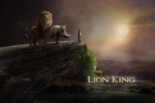 Lion-king by CindysArt