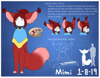 Mimi Reference Sheet by TheLooneyCharboa