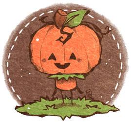 Lil' Pumpkin by Teatime-Rabbit