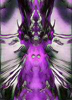behind the veil of sanity by metalflame13