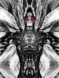 mothman by metalflame13