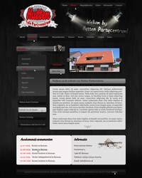 Party center website by D72