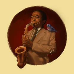 Charlie Parker by qbenk