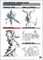 Crossover Crisis Artbook, page 10 by Kugawattan