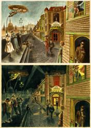 Day and Night by LenkaSimeckova