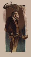 Crooked man by LenkaSimeckova