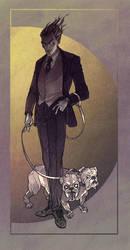 Bulldog by LenkaSimeckova