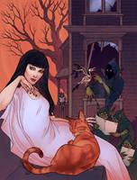 Scream and Misty Special cover by LenkaSimeckova