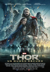 Thor The Dark World Poster by Namine24