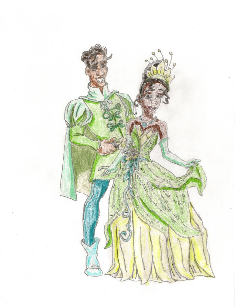 Redesign Tiana and Naveen by Namine24