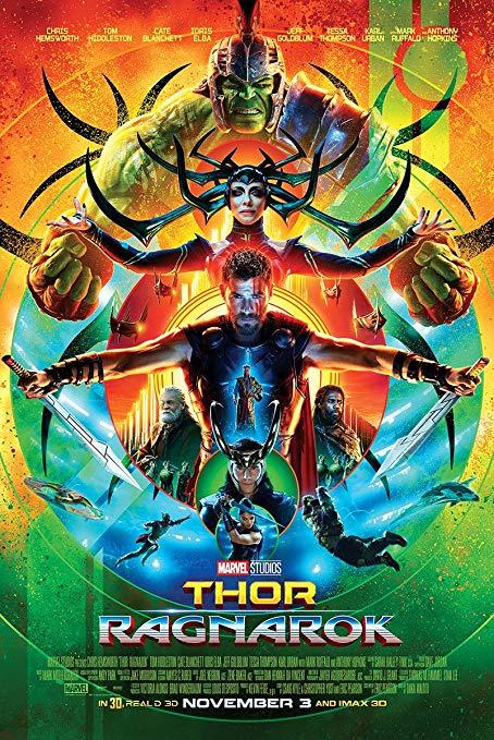 Thor Ragnarok Poster by Namine24