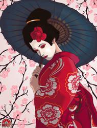 Cherry Blossoms by MattVTwelve