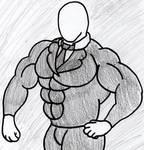 not so slender, slender man by king-k-roo