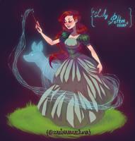 Character Design Challenge: Lily Potter by ZARINAABZALILOVA