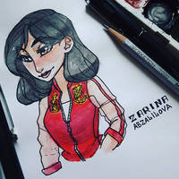 Ralph Breaks the Internet - Casual Princess Mulan by ZARINAABZALILOVA