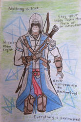 Assassin's Creed III Connor by Perfectly-Obscure