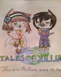 Tales of Xillia kittens by Perfectly-Obscure