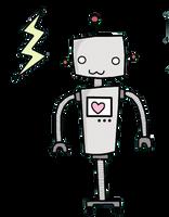 Cute kawaii robot by TrubuteOfDistrict13
