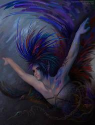 The Bluebird by KseniyaLvova