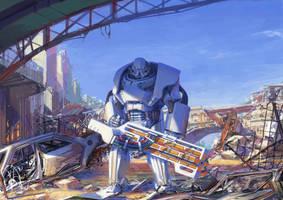power armor concept by hammk