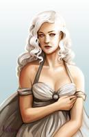 Daenerys Targaryen by Kafai