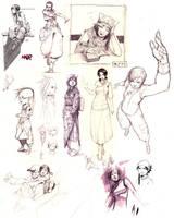 Random -2007- sketches by kasai