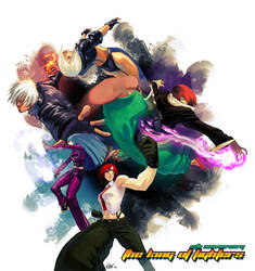 King of Fighters 15th anniv. by kasai
