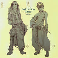 Commissh - Leviticus Cross by kasai