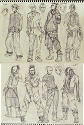ICHIDO-DOODS. A gang of idiots by kasai