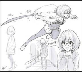 Fuyukai Sketches by kasai