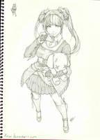 Lola Sketch by kasai