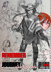 Remember the Journey sketchbook Vol.1 PDF for $3+ by kasai
